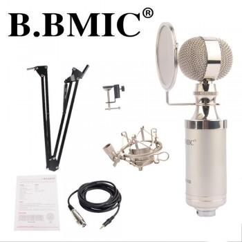 B. BMIC Bottle Condenser Microphone - Silver (Set)