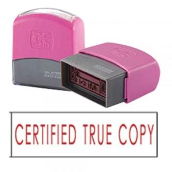 AE Flash Stamp - Certified True Copy