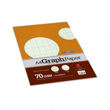 Campap A4 Graph Paper 20 sheets CA3711