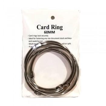 Card Ring 60mm 4pcs/pkt