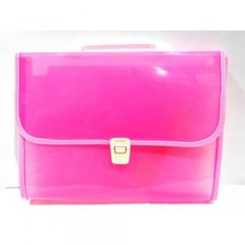 8702 Expanding File Pink