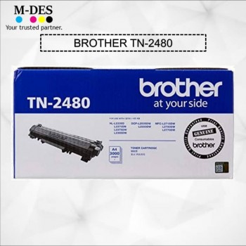 Toner Cartridge Brother TN-2480 (3K) High Capacity