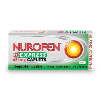 Nurofen Express Caplets 684mg 12's