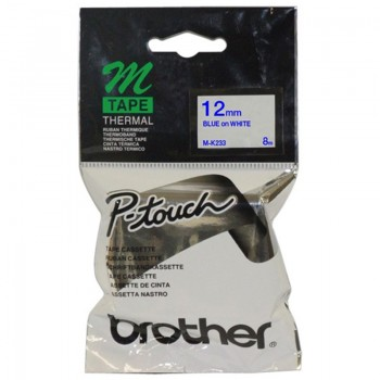 Brother MK233 Blue on White - 12mm