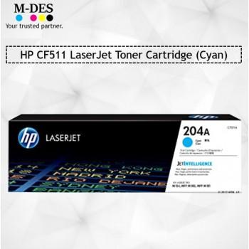 HP CF511A Cyan LaserJet Toner Cartridge (204A)