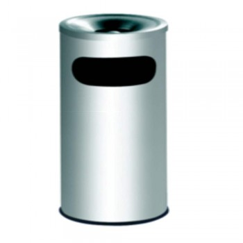S.Steel Bin c/w Ashtray Top RAB-042/A (Item no: G01-103)