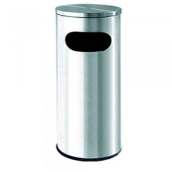 S.Steel Bin c/w Flat Top RAB-002/F (Item no: G01-100)