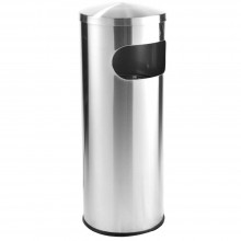 Stainless Steel Binc/w Dome Top RAB-001/D
