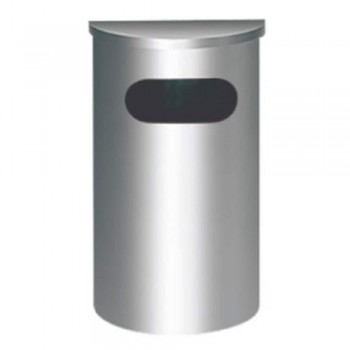 S.Steel Semi Round Bin SRB-039/F (Item no: G01-132)