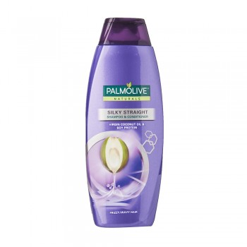 Palmolive Naturals Silky Straight (Frizzy/Wavy Hair) Shampoo & Conditioner 350ml