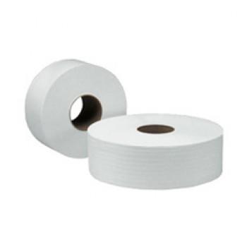 SCOTT® 1-Ply Jumbo Roll Tissue (Embossed) - 16 rolls X 400 meters
