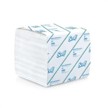 SCOTT® Hygienic Bathroom 1-Ply Tissue (Non-Embossed) 460sheets
