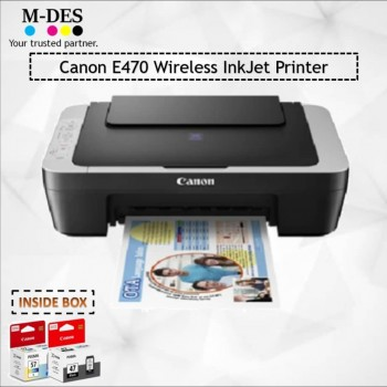 Printer Canon E470 ALL-IN-ONE