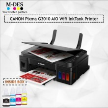 Canon Pixma G3010 Wireless All-In-One Inkjet Printer
