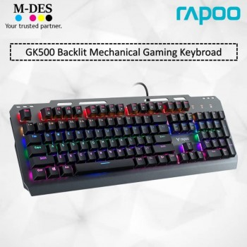 RAPOO GK500 Backlit Mechanical Gaming Keyboard