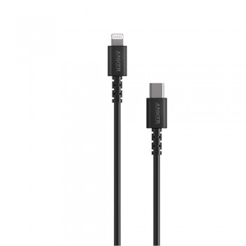 Anker PowerLine Select USB-C to Lightning Connector Cable Black (0.9M)