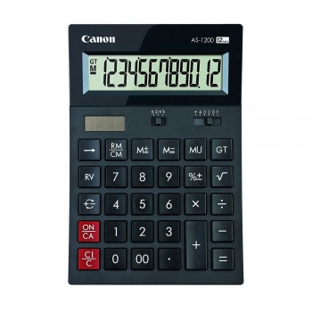 Canon AS-1200 Arc Design Desktop 12 Digits Calculator