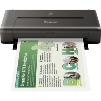 Canon PIXMA iP110 - A4 Single-function WiFi Mobile Photo Printer with Battery Pack