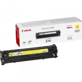 Canon Cartridge 316 Yellow Toner Cartridge
