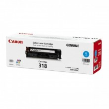 Canon Cartridge 318 Cyan Toner Cartridge