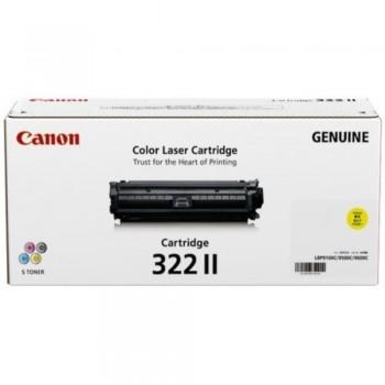 Canon Cartridge 322 II Yellow Toner Cartridge - 15k