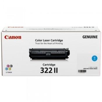 Canon Cartridge 322 II Cyan Toner Cartridge - 15k
