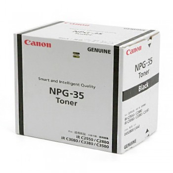 Canon Irc3380/2880/3080i Black Toner (item no: CANON NPG 35B)