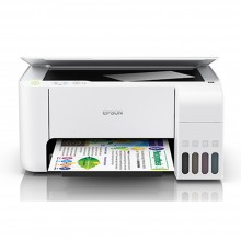 Epson EcoTank L3156 Wi-Fi All-in-One Ink Tank Printer (White)