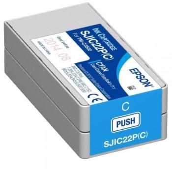 Epson TM-C3510 SJIC23P Ink Cartridge - Cyan (Item No: EPS SJIC23P C)