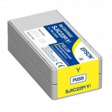 Epson TM-C3510 SJIC23P Ink Cartridge - Yellow (Item No: EPS SJIC23P Y)