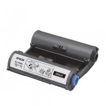 Epson RC-R1BNA LabelWorks Tape - 100mm Black Ribbon