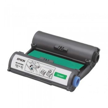 Epson RC-R1GNA LabelWorks Tape - 100mm Green Ribbon