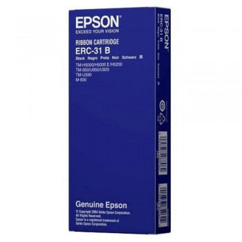 Epson ERC 31 Ribbon - Black (Item No: EPS ERC 31)