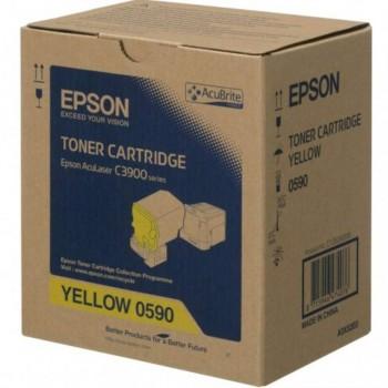 Epson SO50590 Yellow Toner Cartridge (Item No:EPS SO50590)