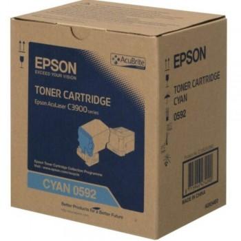 Epson SO50592 Cyan Toner Cartridge (Item No: EPS SO50592)