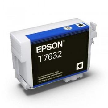 Epson T7632 Ink Cartridge - Cyan (Item No: EPS T763200)