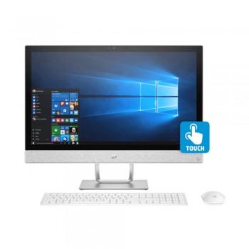 """HP Pavilion 24-R178D 24"""" FHD IPS Touch AIO Desktop PC - i7-8700T, 8gb ddr4, 2tb, Amd R530 2GB, W10"""