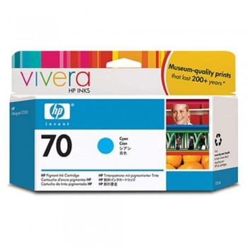 HP 70 130-ml Cyan Ink Cartridge (C9452A)