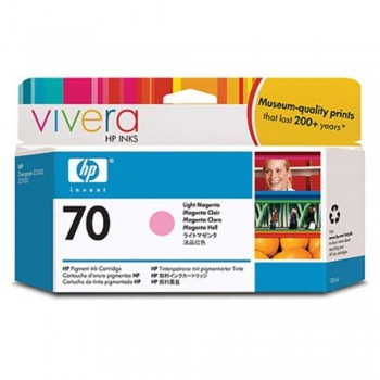 HP 70 130-ml Light Magenta Ink Cartridge (C9455A)