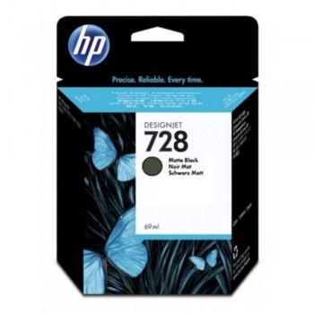 HP 728 69-ml Matte Black DesignJet Ink Cartridge (F9J64A)