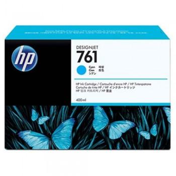 HP 761 400-ml Cyan Designjet Ink Cartridge (CM994A)