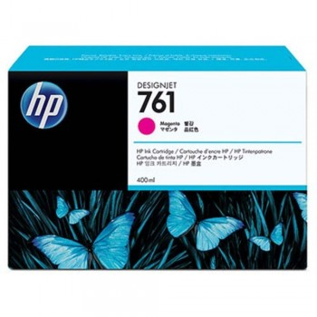 HP 761 400-ml Magenta Designjet Ink Cartridge (CM993A)