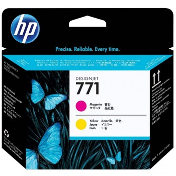 HP 771 DesignJet Printhead - Magenta/Yellow (CE018A)