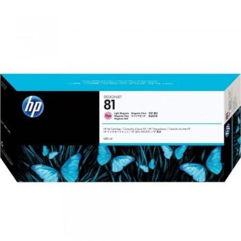 HP 81 DesignJet Dye Ink Cartridge 680-ml - Light Magenta (C4935A)