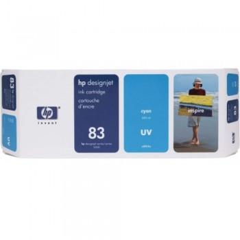 HP 83 DesignJet UV Ink Cartridge 680-ml - Cyan (C4941A)