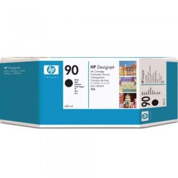 HP 90 DesignJet Ink Cartridge 400-ml - Black (C5058A)
