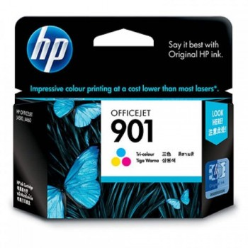HP 901 Tri-color Officejet Ink Cartridge (CC656AA)