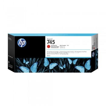 HP 745 130ml DesignJet Chromatic Red Ink Cartridge (HP F9K00A)
