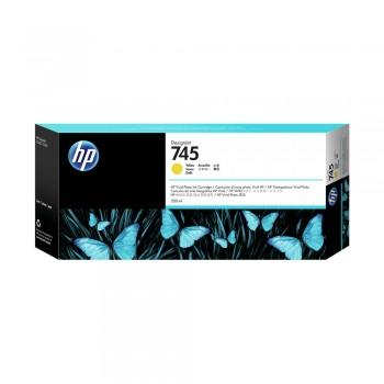 HP 745 130ml DesignJet Yellow Ink Cartridge (HP F9J96A)