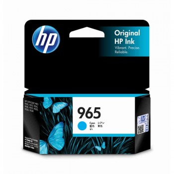 HP 965 Cyan Original Ink Cartridge